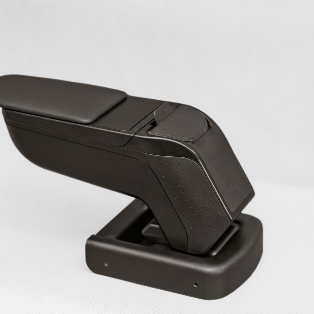 Портативный карман – это новая функция для подлокотников. Держите свои документы, кошелёк или мобильный телефон в портативном кармане, пристегните к Вашему ремню и возьмите с собой Регулировка по высоте и углу наклона металлическим механизмом Сдвигаемая вперед верхняя часть