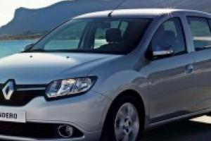 Подлокотник на Renault Sandero